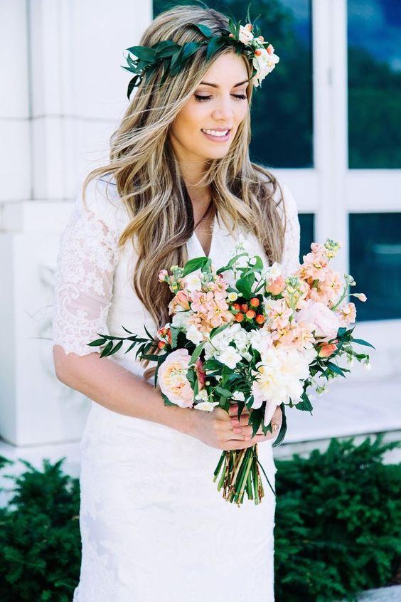 36 Romantic Spring Wedding Hairstyles That Inspire Obsigen
