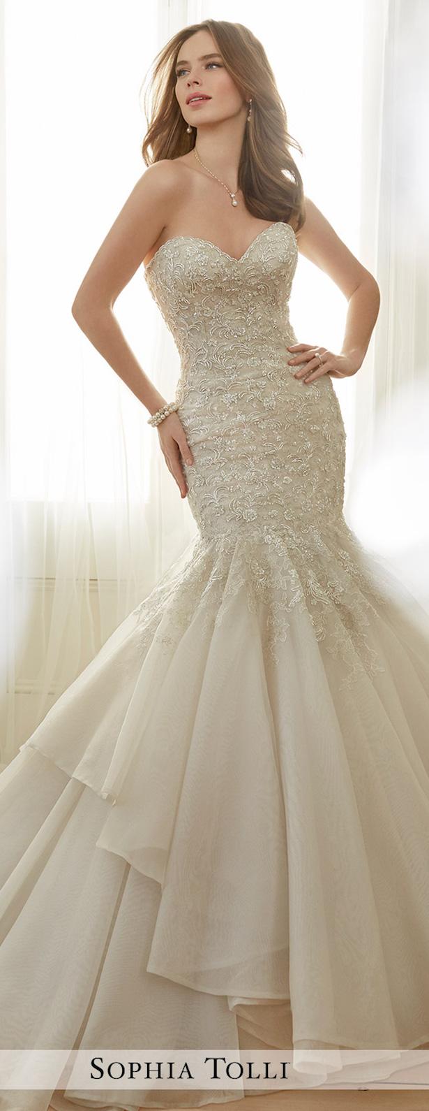 Sophia Tolli Spring 2017 Wedding Dress Collection