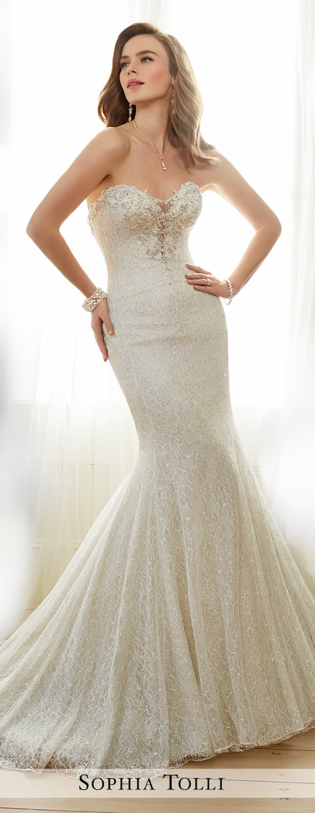 Wedding Dress Mermaid Lace 61 Fabulous  sweetheart and plunging