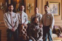 06 The groomsmen didn't wear jackets