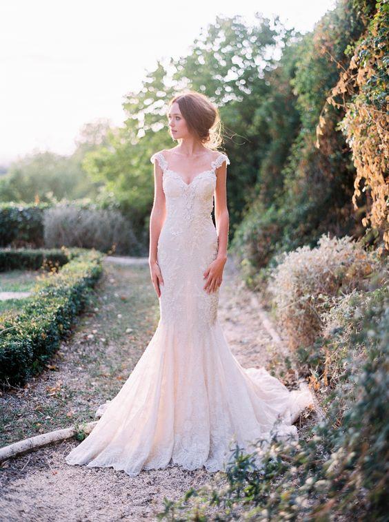 Sweetheart Strap Mermaid Wedding Dress