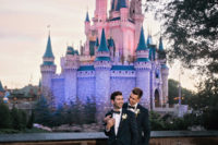 08 Grooms loved disney since childhood and their dream of marrying there came true