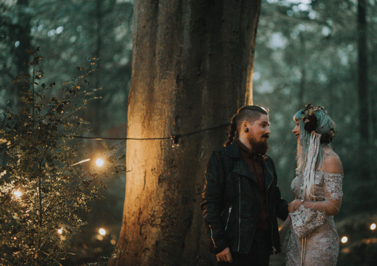 The couple put their characters and preferences into this wedding