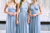 08 convertible light sky blue bridesmaid dresses