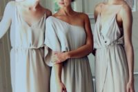 10 off white boho bridesmaids' dresses with different looks to make every girl stand out