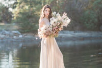 11 The beautiful natural surroundings inspred this wedding shoot