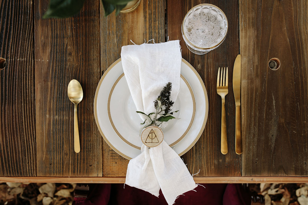 What a nice inspired place setting