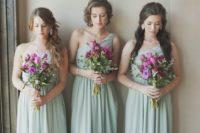 17 mint green one shoulder maxi dresses