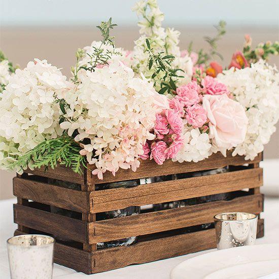 Spring Wedding Centerpiece Ideas: 40 Cute Spring Rustic Wedding Décor Ideas