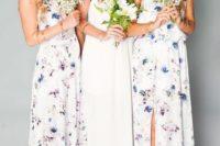 21 floral maxi dresses with a halter neckline
