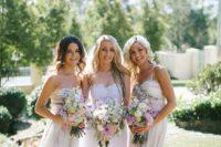 26 watercolor floral bridesmaids' dresses