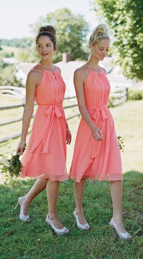 1f233f044b 38 Beautiful Spring Bridesmaids' Dresses - crazyforus