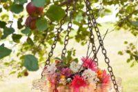 31 mason jar rustic spring wedding chandelier