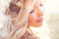 34 wildflower crowns are ideal for a spring boho wedding