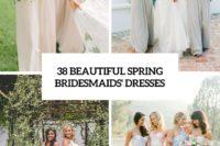 38 beautiful spring bridesmaids' dresses cover