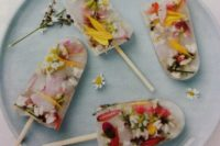 48 wildflower popsicles are right what you need for a boho wedidng