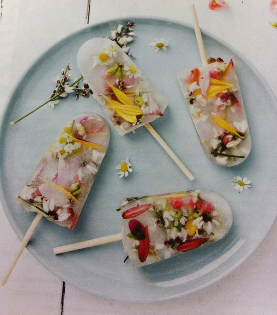 wildflower popsicles are right what you need for a boho wedidng