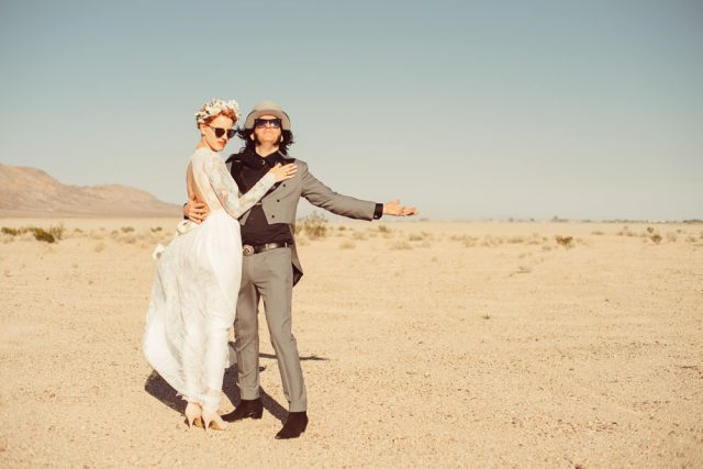 Wedding Inspired By Fear And Loathing In Las Vegas