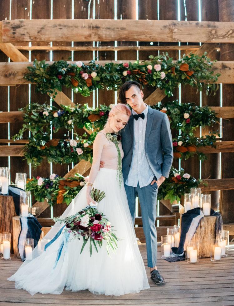 Indigo Wild Love Barn Wedding Shoot