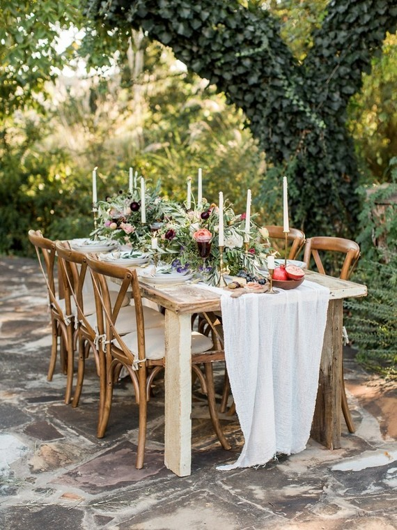 Romantic Vineyard Wedding Shoot Inspired By European Gardens