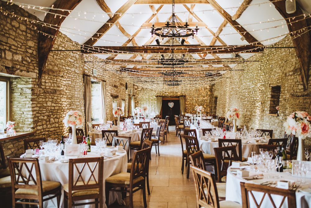 Despite of a rustic venue, the couple wanted some touches of glam and glitter to spruce up the wedding
