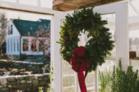 04 Evergreens, pinecones and red hues are right what you need to make everyone feel Christmas