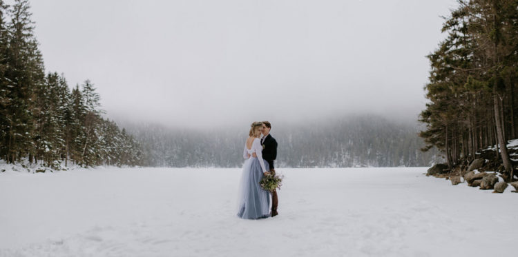 The natural landscape became a perfect backdrop for all the photos