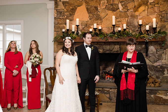 The wedding was rusitc, with both American and Spanish cultures interwoven