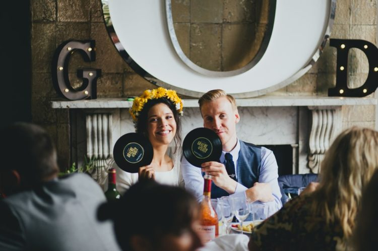 The couple really enjoyed their relaxed wedding, so don't be afraid to rock only what you like and don't listen to anyone