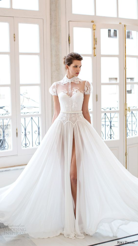 Silk Wedding Dresses