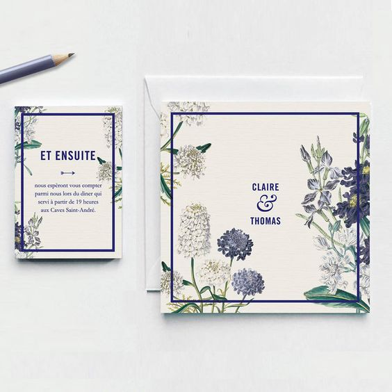 personalized stunning rustic chic invitation with a floral design