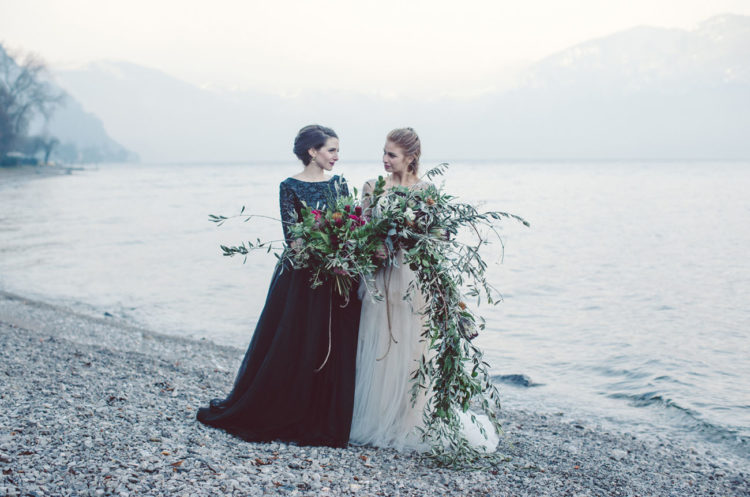 Refined And Dreamy Bridal Elopement At Lake Como