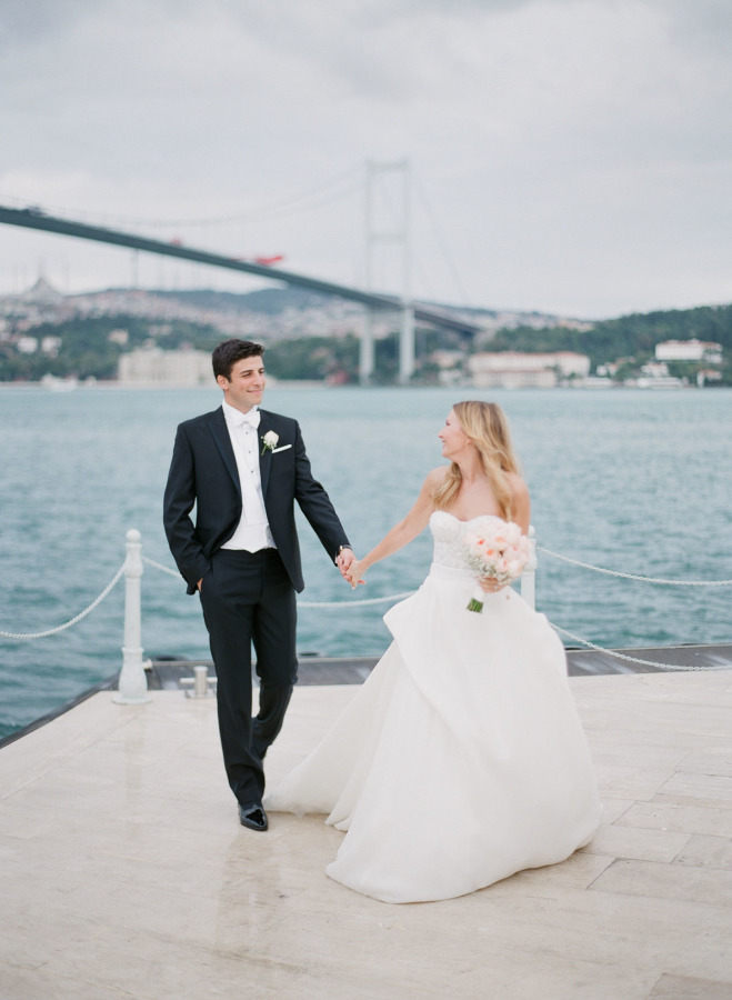 Destination Wedding On The Shores Of Istanbul