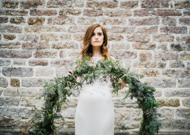 This Unusual Winter Wedding Shoot Was Filled With Neutrals Textures And Other Stuff That You