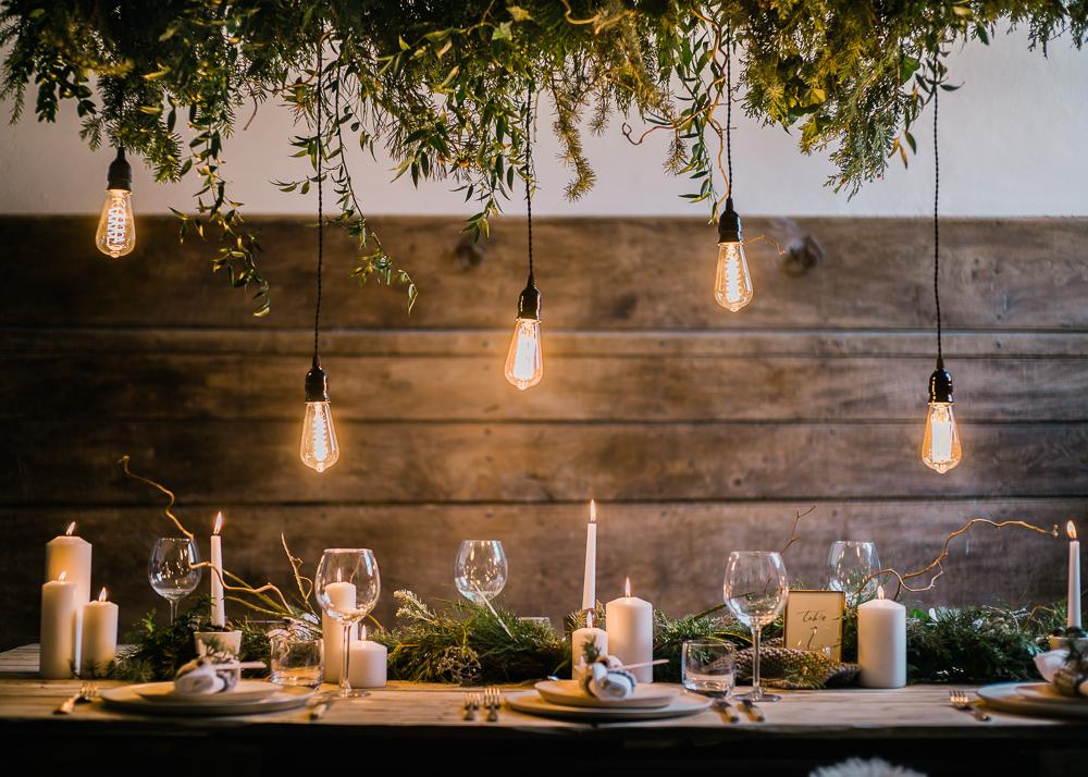 edison bulbs for table decor