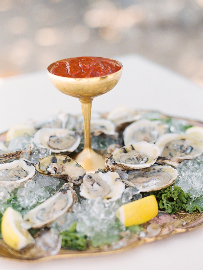 As it was a beachside shoot, seafood was a logical and delicious idea