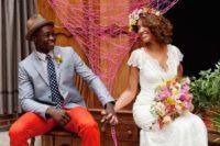 bold groom attire