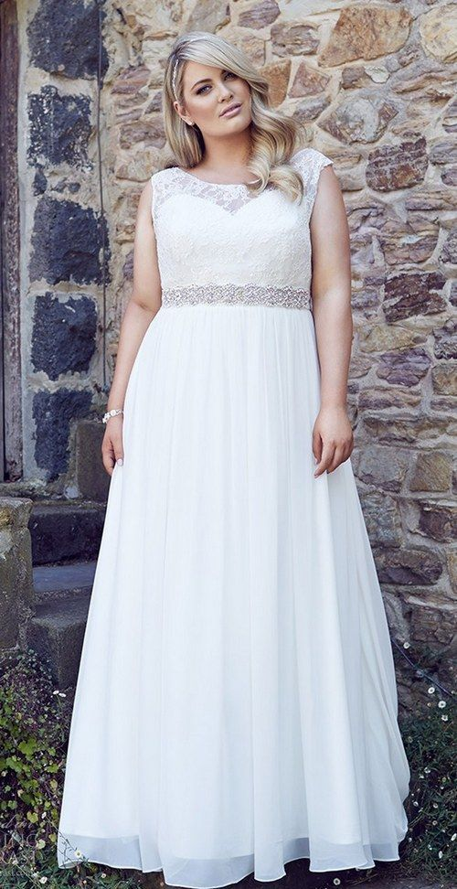 thick straps illusion sweetheart neckline with a jeweled sash