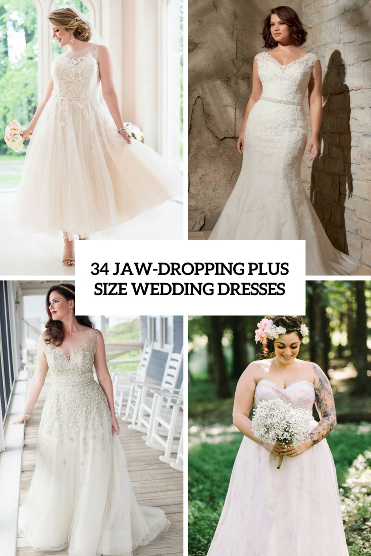 Super Size Wedding Dresses