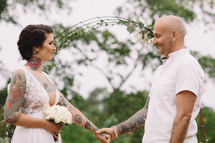This Swedish Wedding Was Filled With Tattoos And Rustic Charm