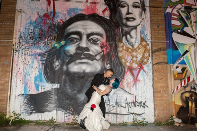 Alice In Wonderland Wedding In Salvador Dali's Museum