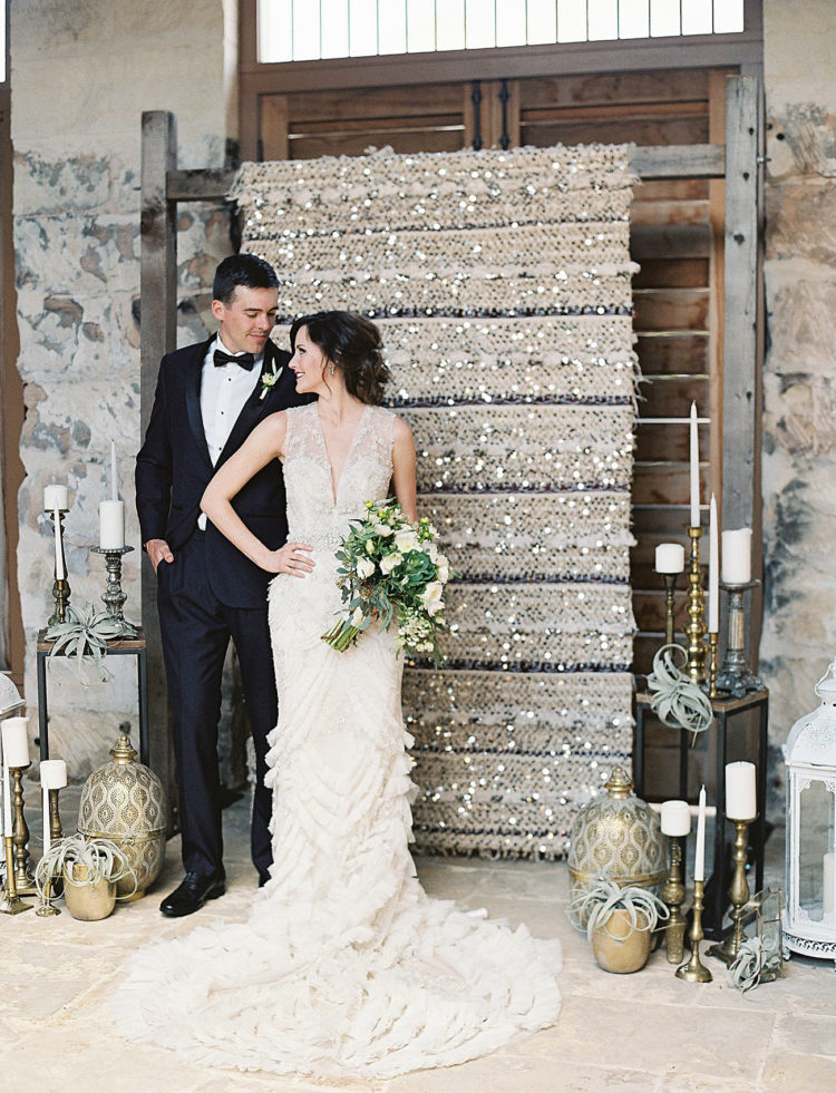 Glamorous Texas Wedding With Dazzling Moroccan Details