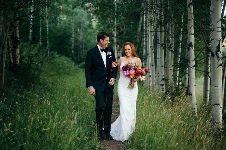Glam Meets Boho Aspen Wedding With Handmade Touches
