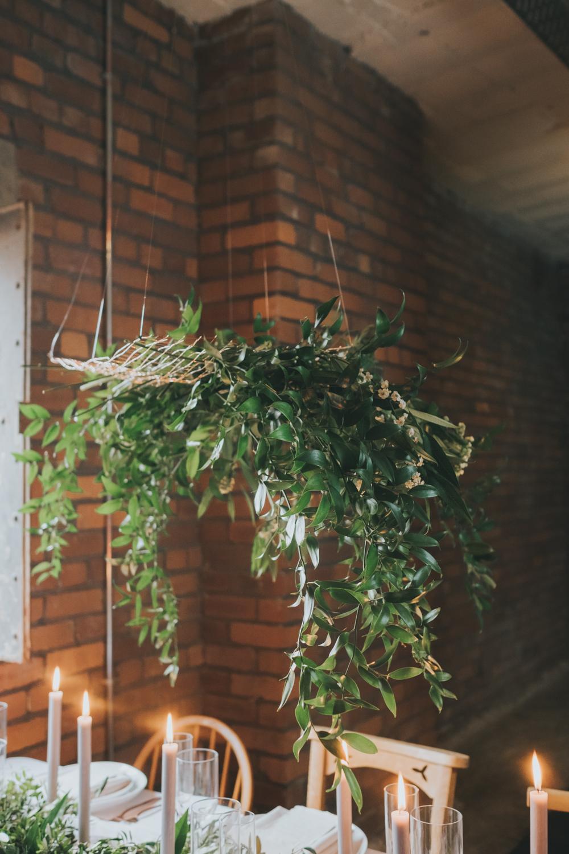 greenery wedding decor