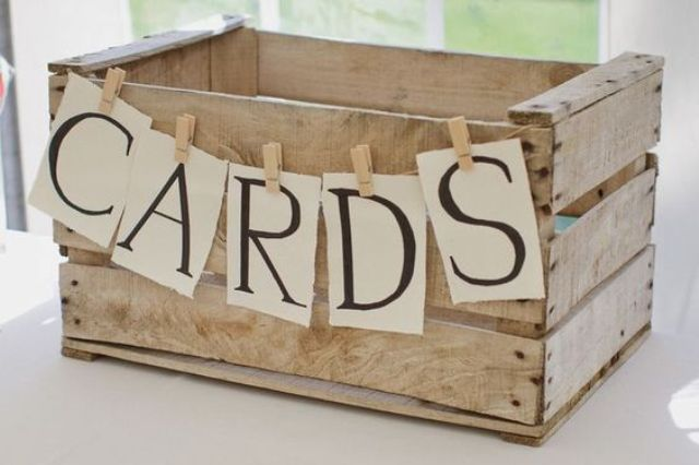 35 Rustic Wedding Card Boxes And Their Alternatives Weddingomania