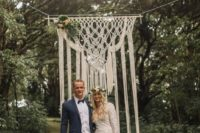 03 a macrame hanging looks ethereal and beautiful