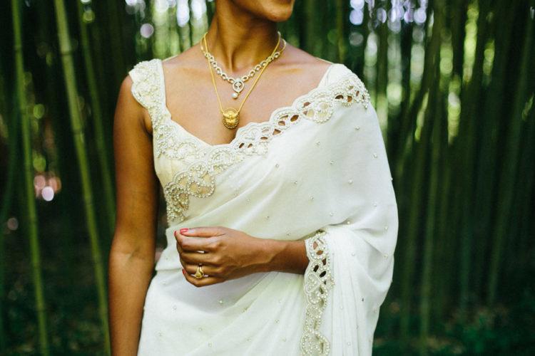 Look at this sari, isn't it perfection
