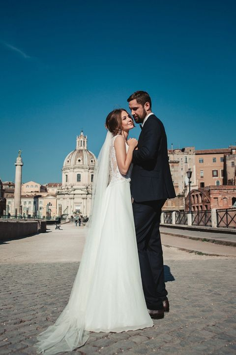 Rome is stunning at any time, and you will look gorgeous