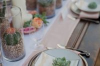 16 a desert tablescape with succulents and cacti and blush details