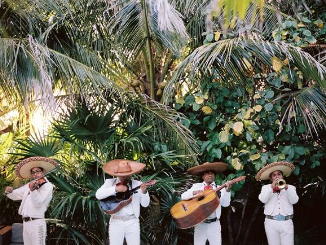 invite mariachi for your wedding, this is typically Mexican